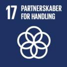 Logo Partnerskaber for handling