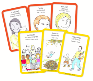 Free Feeling and needs cards Portuguese